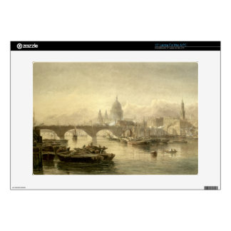 """St. Paul's Cathedral and London Bridge from the Su Skin For 15"""" Laptop"""