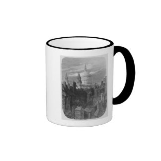 St. Paul's Cathedral and the slums Mug