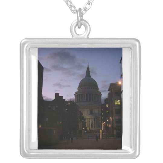 St. Paul's Cathedral at Twilight Necklace