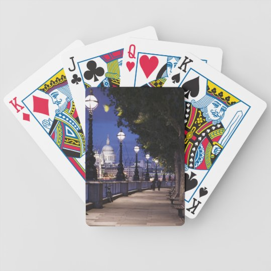 St. Paul's Cathedral Bicycle Playing Cards
