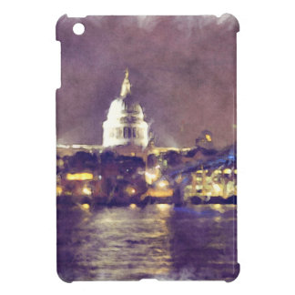 St Paul's Cathedral by Night Fine-Art Painting iPad Mini Case