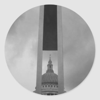 St Pauls Cathedral Classic Round Sticker