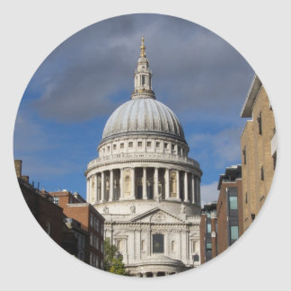 St Paul's Cathedral Classic Round Sticker