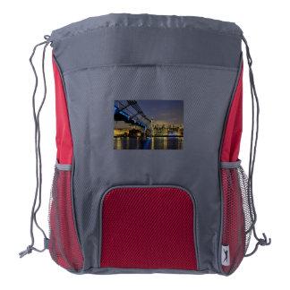 St Pauls Cathedral Drawstring Backpack