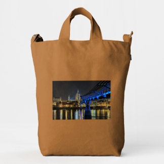St Pauls Cathedral Duck Canvas Bag