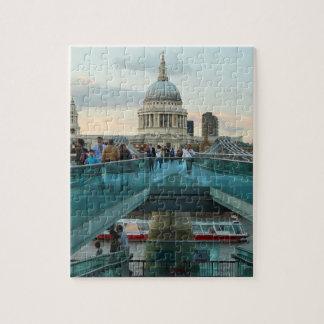 St. Paul's Cathedral from Millennium Bridge Puzzle