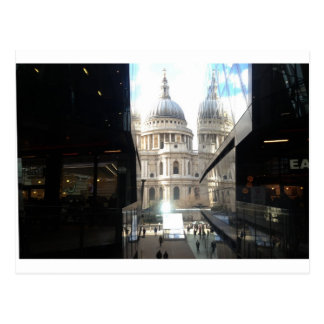 St Paul's Cathedral from One New Change Postcard
