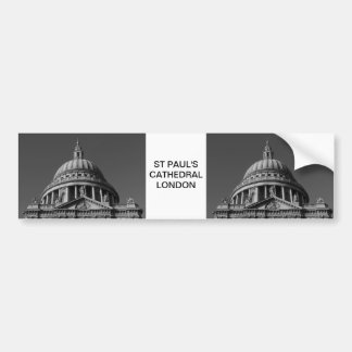 St Paul's Cathedral London Bumper Sticker