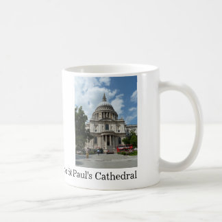 St Paul's Cathedral London Classic White Coffee Mug