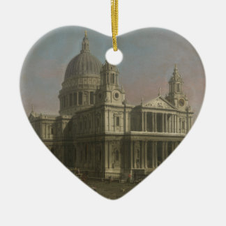St. Paul's Cathedral, London, England Ceramic Ornament