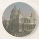 St. Paul's Cathedral, London, England Beverage Coaster