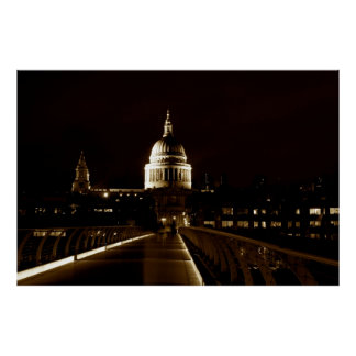 St Pauls Cathedral London Poster