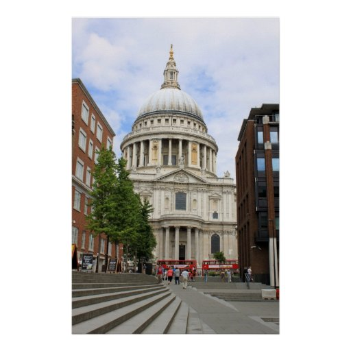 St.Paul's Cathedral, London Poster