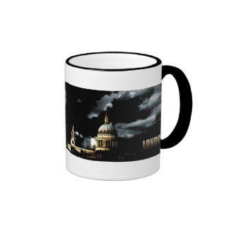 St Paul's Cathedral London Ringer Coffee Mug