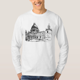 St. Pauls Cathedral, London. Sketch T-Shirt