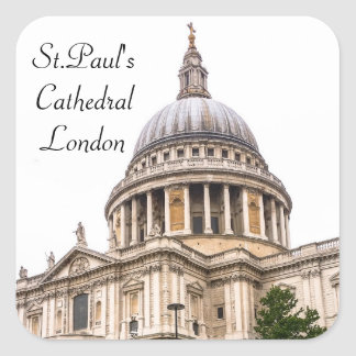 St.Paul's Cathedral London Sticker