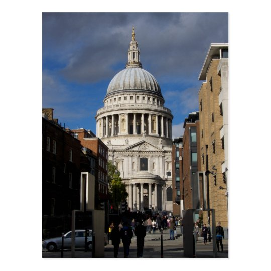 St Paul's Cathedral Postcard