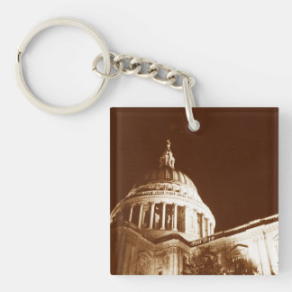 St Paul's Cathedral – Sepia Keychain