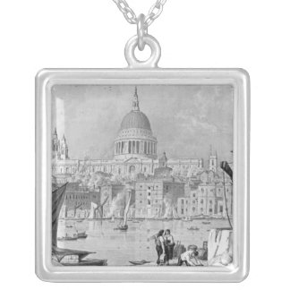 St. Paul's Cathedral Silver Plated Necklace