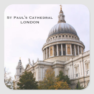 St Paul's Cathedral Square Sticker