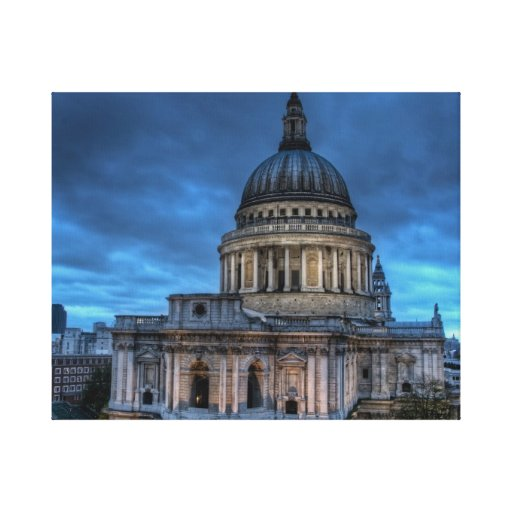 St Pauls Cathedral Stretched Canvas Prints