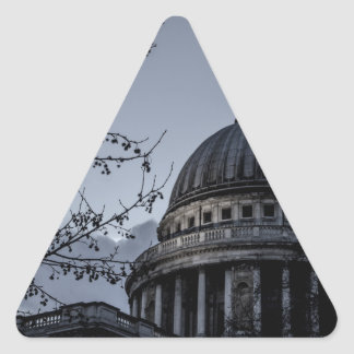 St Paul's Cathedral Triangle Sticker
