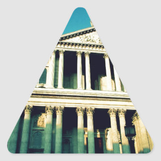 St. Paul's Cathedral Triangle Sticker