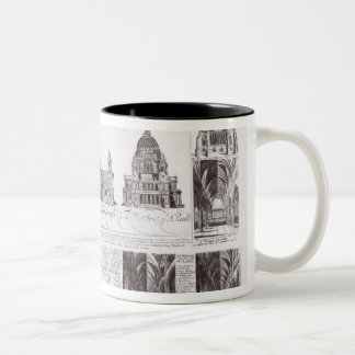 St. Paul's Cathedral Two-Tone Coffee Mug