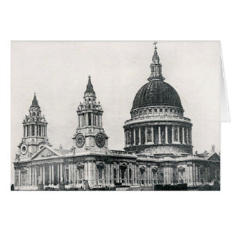 St Pauls Catherdral, London Card