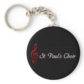 St. Paul's Choir Keychain