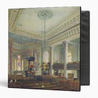 St. Paul's, Deptford (w/c on paper) Binder