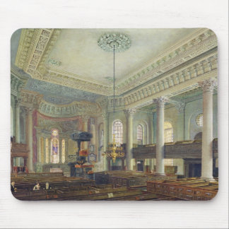 St. Paul's, Deptford (w/c on paper) Mouse Pad