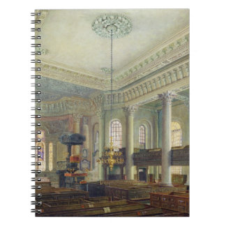 St. Paul's, Deptford (w/c on paper) Notebook