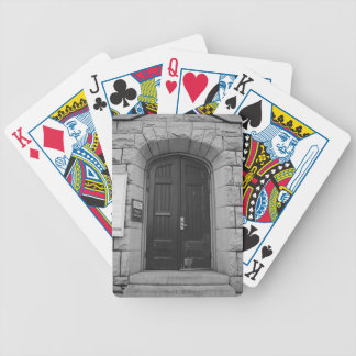 St Paul's Episcopal Church in Sacramento I in bw Bicycle Playing Cards