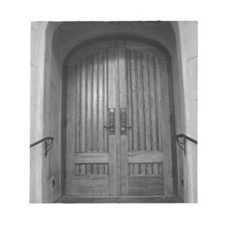 St Paul's Episcopal Church in Sacramento II in bw Notepad