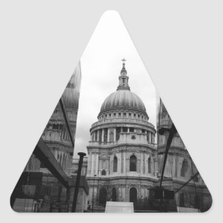 St Pauls for lunch Triangle Sticker