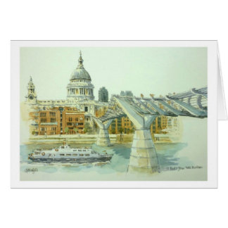 St.Pauls from Tate Modern Greeting Card