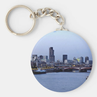St. Paul's from the Embankment, London, England Key Chains