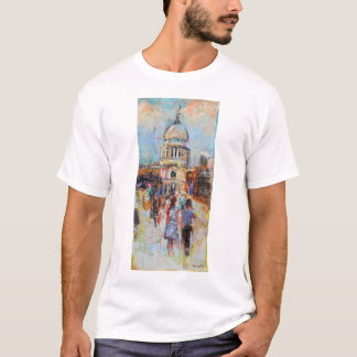 St Paul's from the Millennium Bridge T-Shirt