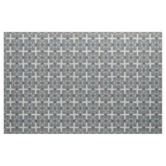 St. Paul's grey multi mosaic Fabric
