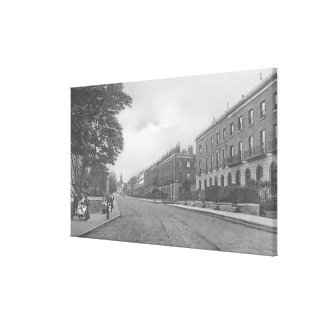 St. Pauls Road, Canonbury, Islington, c.1905 Canvas Print