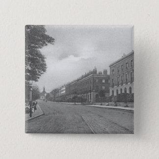 St. Pauls Road, Canonbury, Islington, c.1905 Pinback Button