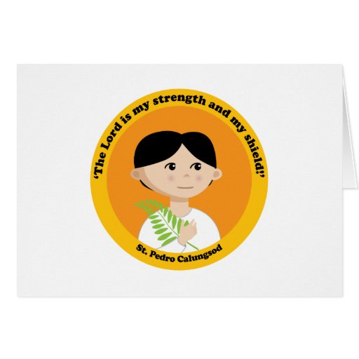 St. Pedro Calungsod Greeting Card