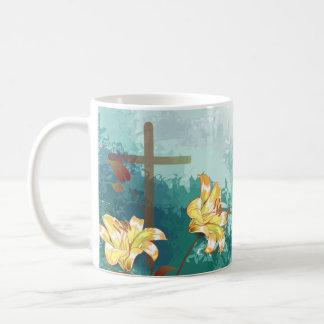St. Peregrine, Patron Saint of Cancer, Cross Coffee Mug