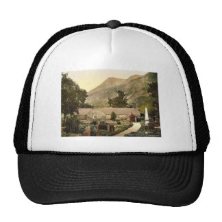 St. Peris Church, Llanberis, Wales rare Photochrom Trucker Hat