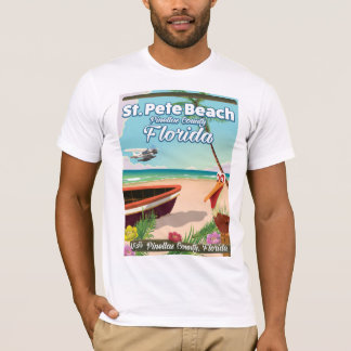 St. Pete Beach Florida vintage travel poster T-Shirt