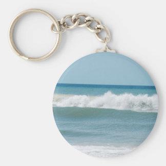 St. Pete Beach Basic Round Button Keychain