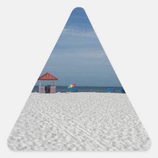 St Pete Beach Triangle Sticker