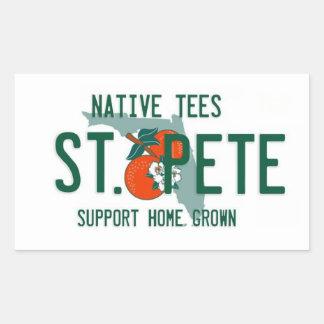 St. Pete Home Grown Sticker