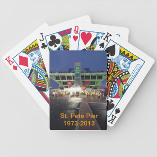 St. Pete Pier playing cards
